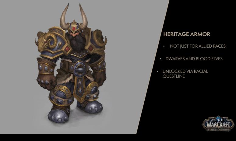 dwarf heritage